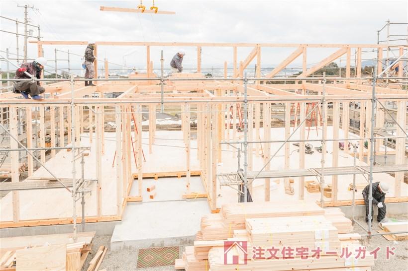 平屋住宅建築工事